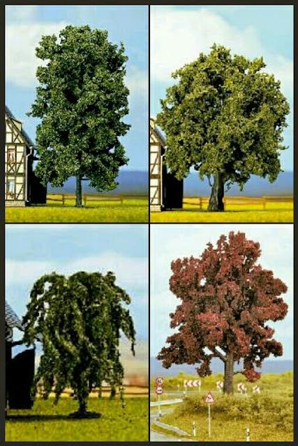 árboles Profi trees de Noch