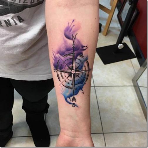 Friggin Increíble Brújula Tatuajes Tatuajes247