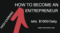 How to become a Entrepreneur