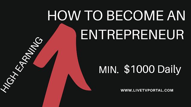 How to become a Entrepreneur