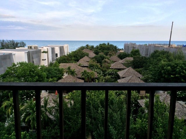 view from room at yaiya resorts, hua hin, thailand