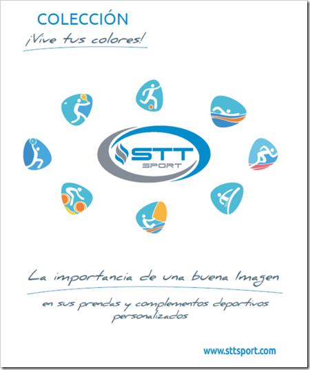 Nuevo catálogo 2018 de la firma STT SPORT prendas y complementos deportivos personalizados.