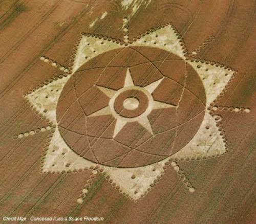 Ufo Files Amazing Crop Circle At Poirino Italy 20th June 2011