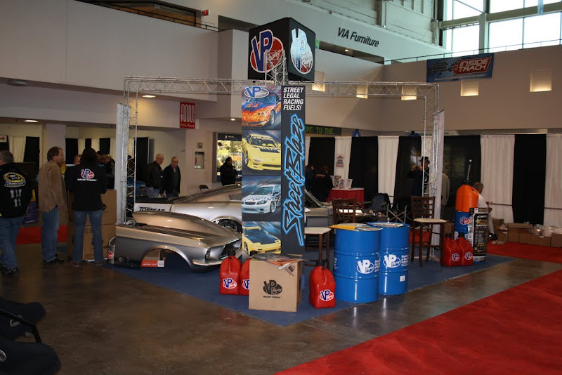 VP Racing Fuels booth.