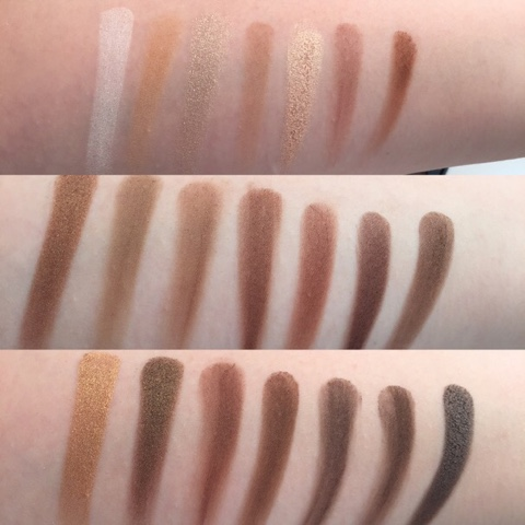 Morphe 35K Palette Swatches