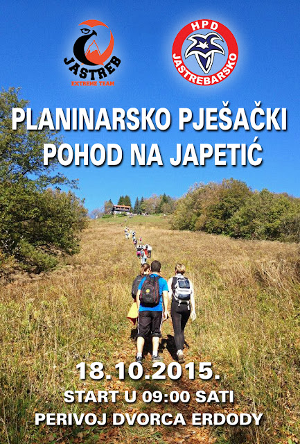 Planinarski uspon na Japetić iz Jaske