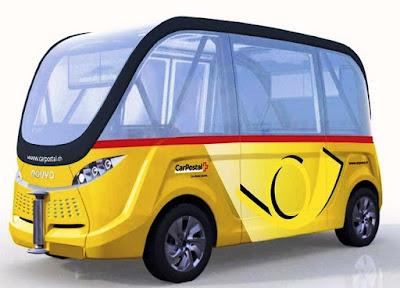 Autobus senza conducente presto operativi in Svizzera