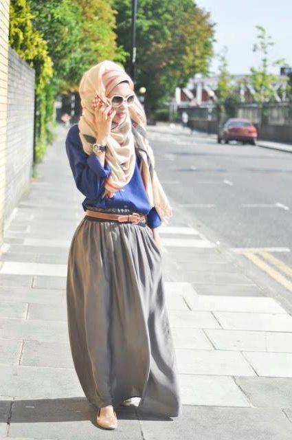Hijab Fashion Inspiration Winter 2016 Styles 7