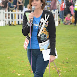 WWW.ENTSIMAGES.COM -       Annabel Giles  MC  at       Pup Aid at Primrose Hill, London September 6th 2014Puppy Parade and fun dog show to raise awareness of the UK's cruel puppy farming trade. Pup Aid, the anti-puppy farming campaign started by TV Vet Marc Abraham, are calling on all animal lovers to contact their MP to support the debate on the sale of puppies and kittens in pet shops. Puppies & Celebrities Return To Fun Dog Show Fighting Cruel Puppy Farming Industry.                                              Photo Mobis Photos/OIC 0203 174 1069