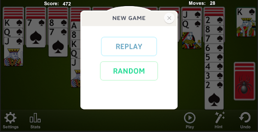 Spider Solitaire apkpoly screenshots 4