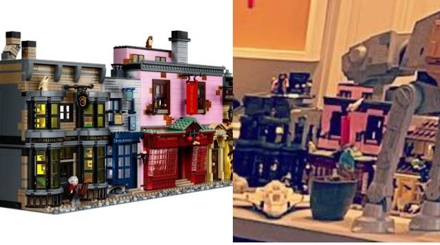 Elton John comemora seu 74º aniversário com a ajuda de Lego do Harry Potter Beco Diagonal