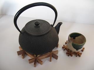 麻の葉トリベット asanoha kumiko hot pot stand