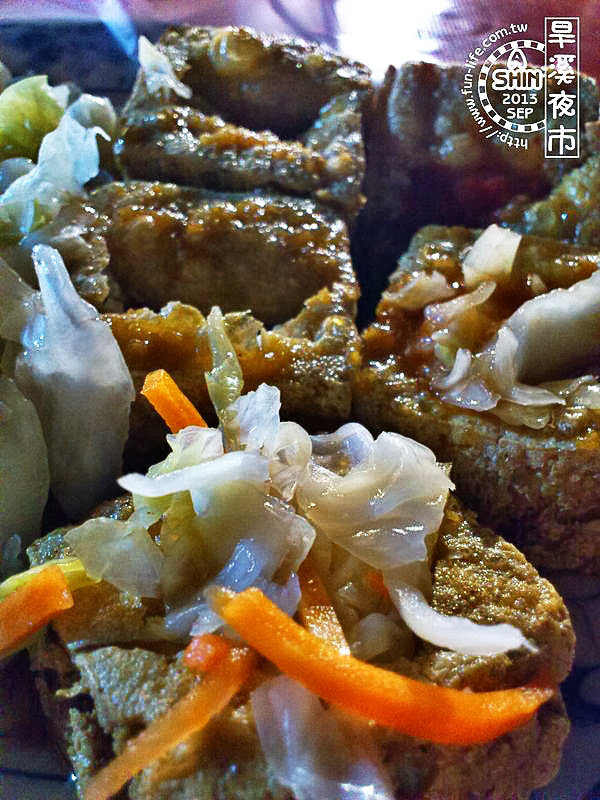 台中旱溪夜市攻略之香酥脆臭豆腐,吃起來真的香酥脆