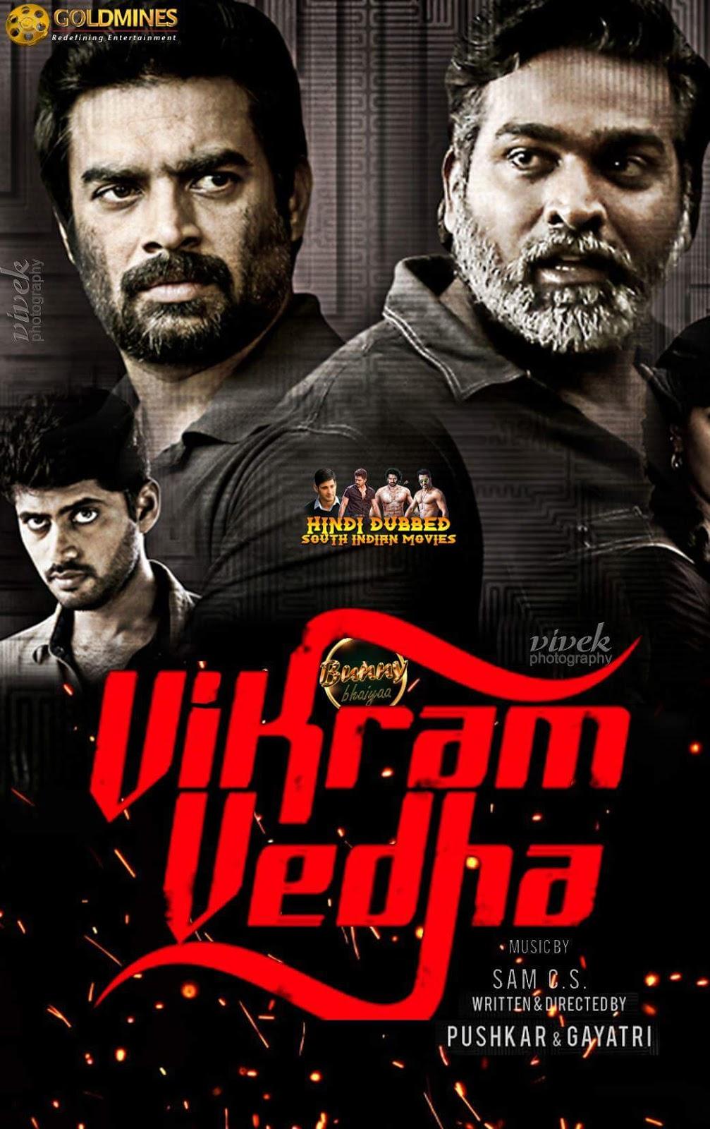 Vikram Vedha Hindi Dubbed Full Movie 2017
