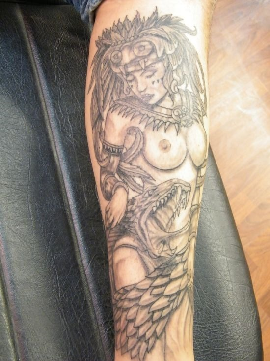 maravilhoso_asteca_menina_guerreiro_o_projeto_da_tatuagem