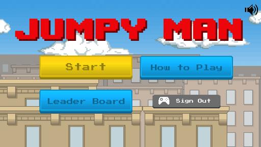 Jumpy Man