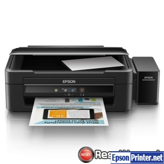 Reset Epson L383 ink pads are at the end of their service life