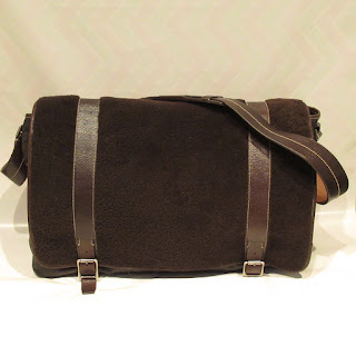 Coach Shearling Messenger Bag