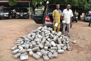 Army nabbed former police officer, collaborates with 320 blocks of weed