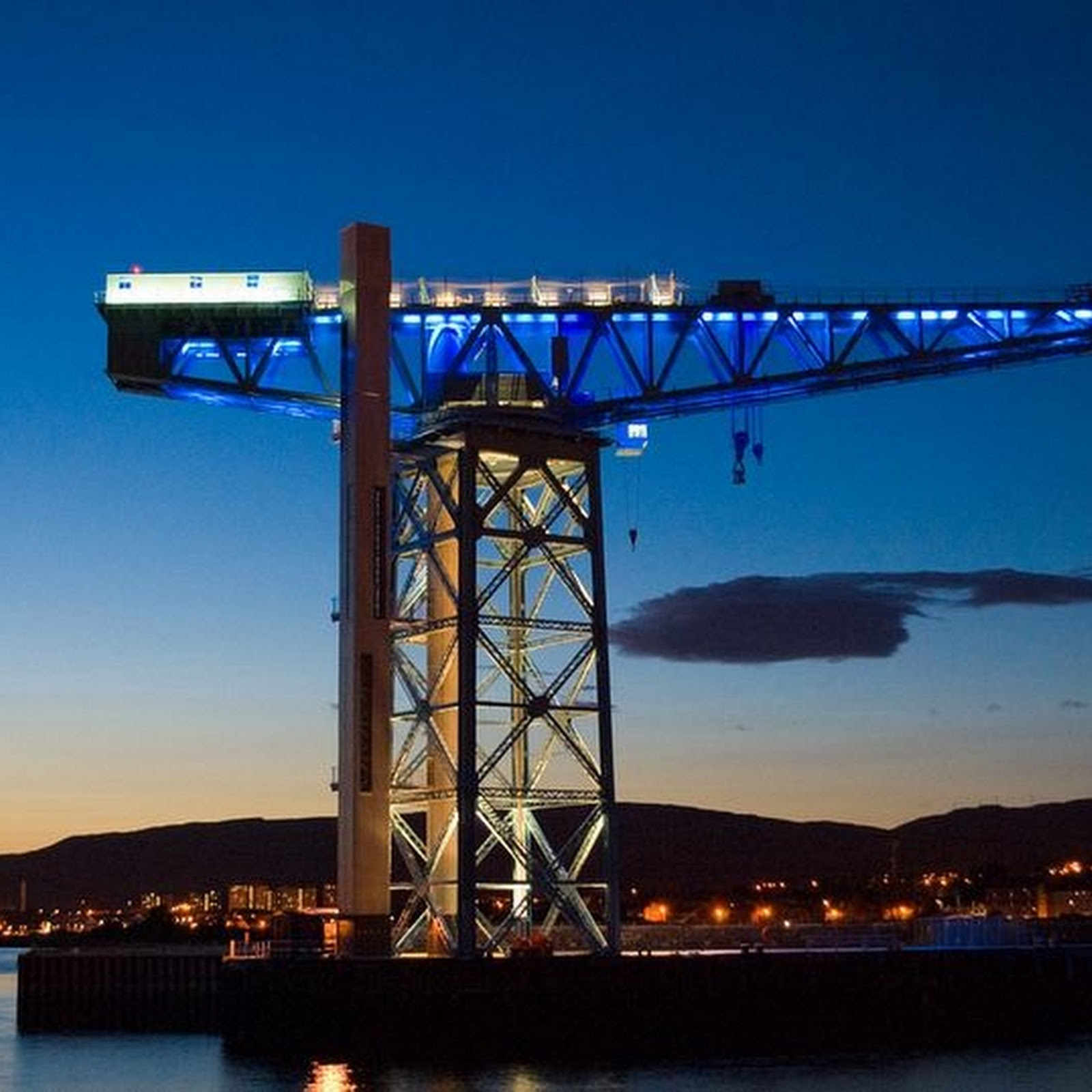 Titan Clydebank: An Industrial Crane, Now Scotland's Unique Attraction