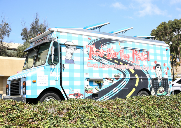 photo of the Two for the Road food truck