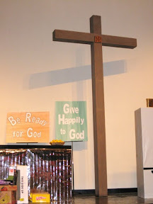 Our cross is featured