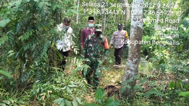 Serda Zamzuri Melaksanakan Patroli Karhutla Rutin Di Desa Ulupulau
