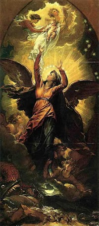 Benjamin West's Woman of the Apocalypse and the Winged Virgin