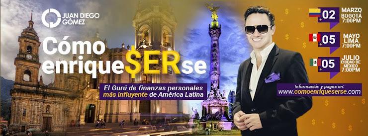 Conferencia de Juan Diego Gómez acerca de Cómo alcanzar el Éxito Financiero