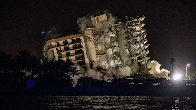 Search Efforts Resume For 118 Missing Residents After Crews Demolish Collapsed Miami High Rise