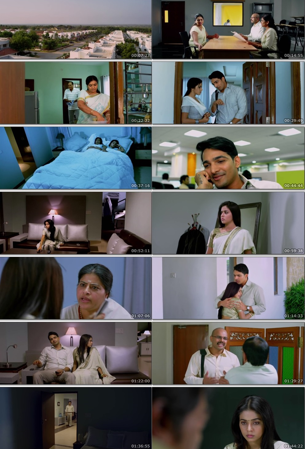 Screen Shot Of Avunu 2012 300MB Full Movie Hindi Dubbed Free Download 480P BRRip Small Size PC Movie