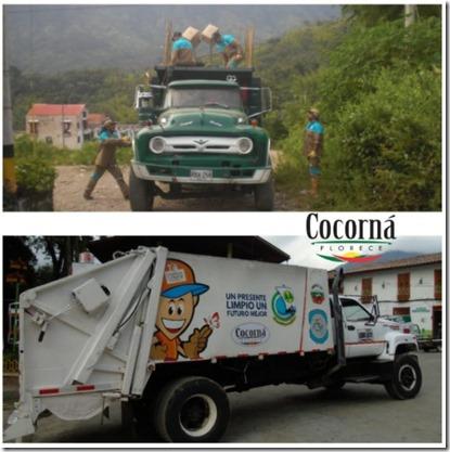 cocorna recolector basuras