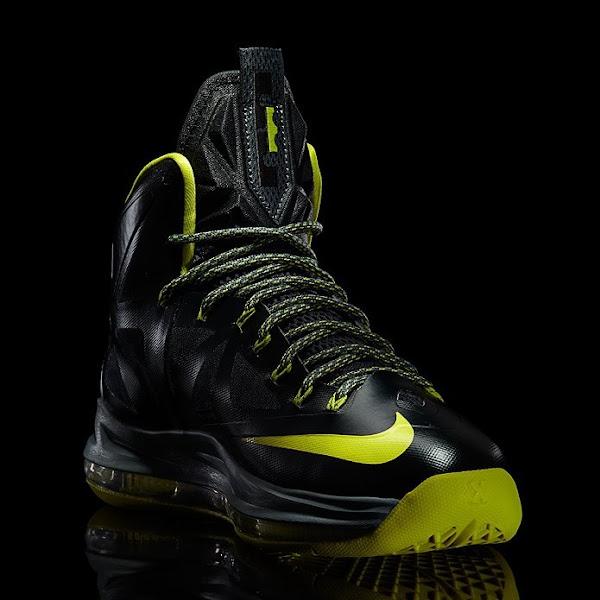 Release Reminder Nike LeBron X 8220Green Diamond8221 aka Dunkman