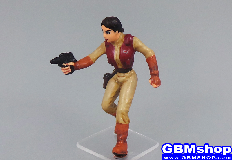 star wars miniature Imperial Assault Senator Padmé Amidala Clone Wars Outfit Battle Costume Old Republic Scout #03 Legacy of the Force Star Wars Miniatures Star Wars Miniatures Custom Customize and Painting