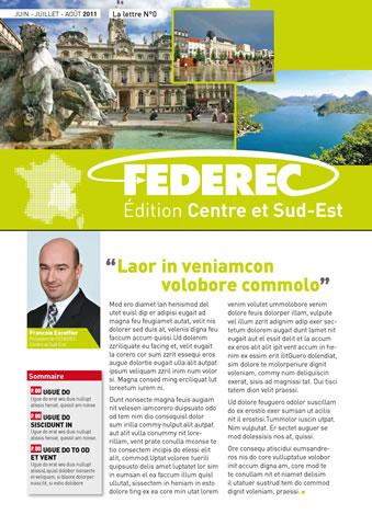 magazine Federec region centre Victoires 01