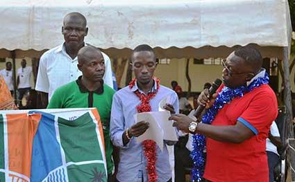 Shimo la Tewa MCA Sammy Ndago. PHOTO | FILE