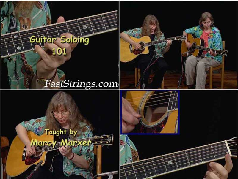 Marcy Marxer - Guitar Soloing 101 An Easy Guide To The Fingerboard