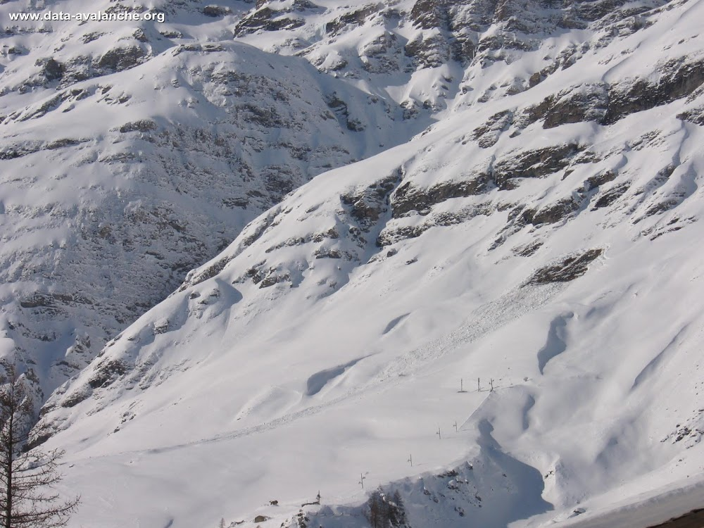 Avalanche Haute Maurienne, secteur Pointe de Claret - Photo 1