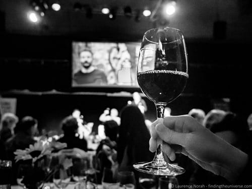 Wine tasting Edinburgh International Science Festival