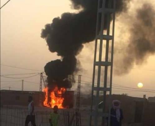 La altas temperaturas provocan un incendios en los cuadros eléctricos en los campamentos saharauis