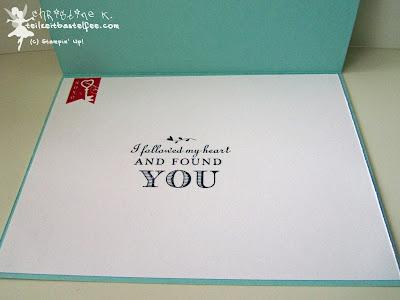 stampin up, valentine, love, follow my heart, liebe, valentinstag