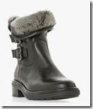 Dune Warm Lined Leather Boots