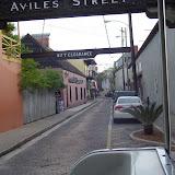 Aviles Street, the oldest street in North America.