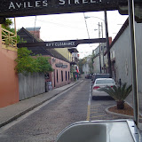 Aviles Street, the oldest street in North America.