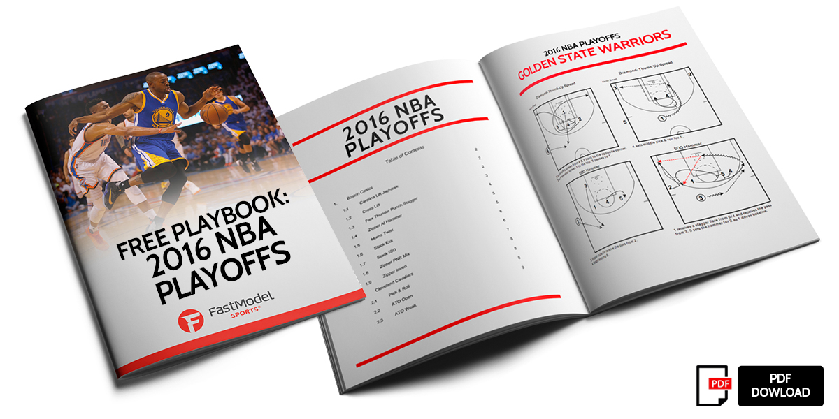 FREE PLAYBOOK. 2016 NBA Playoffs 40b93fe6f