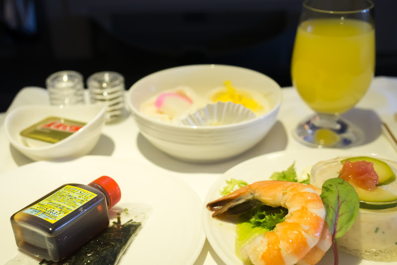 Malaysia airline, dinning, business class 3