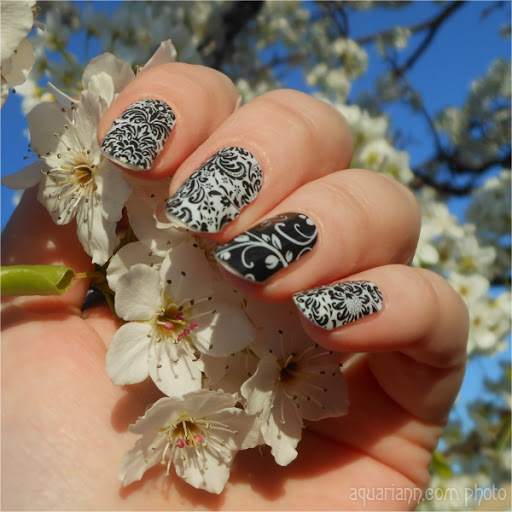 Decorative Floral Nail Art