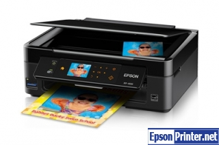 Download EPSON XP-400 Series 9.04 inkjet printer driver and set up without installation CD