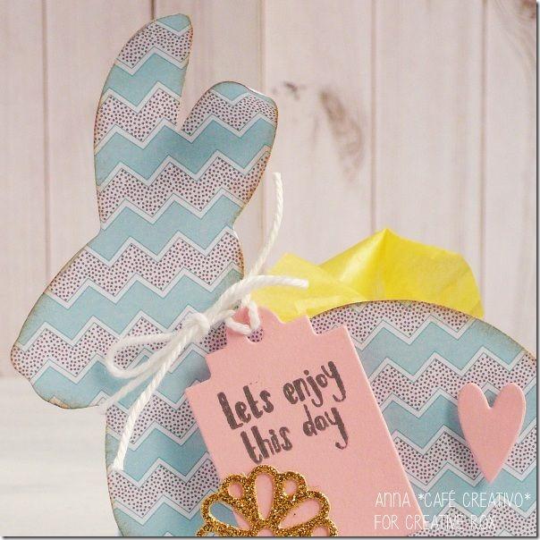 Pasqua segnaposti-cestini-Lovable Bunny-fustella-sizzix-1