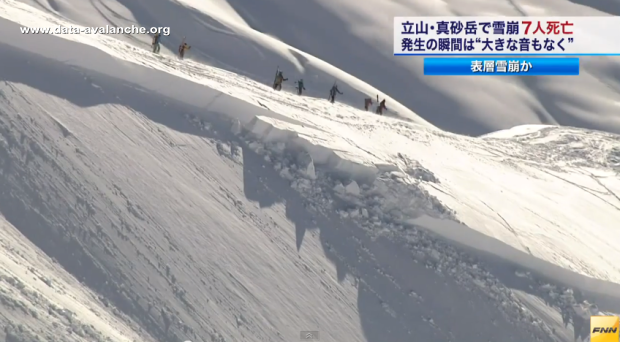 Avalanche Japon - Tateyama, secteur Mont Masago - Photo 1